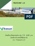 Prezentare analiza financiara_ Vrancart SA