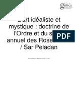L'art idéaliste et mystique doctrine de l'Ordre et du salon annuel des Roses-croix  Sar Peladan 1894.pdf