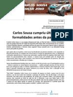 Press Carlos Sousa 09.12.30