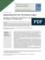 krisis hiperparathyroid