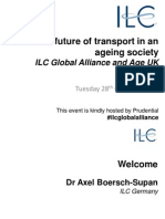 28Oct14 - ILC-UK - The Future of Transport in an Ageing Society