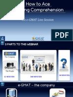 Improve GMAT Rc