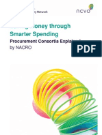 Saving Money Through Smarter Spending - Procurement Consortia Explained