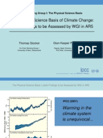 The Physical Science Basis of Climate Change