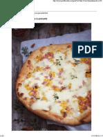 Pizza Cu Porumb