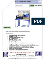 Air Conditioning Test Rig PDF New