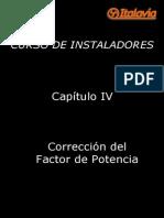 Cap 4 - Corrección Del Factor de Potencia