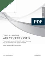 LG Plasma AC Manual