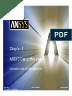 ANSYS Design Modeler