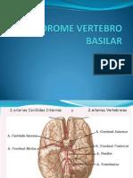 Sindrome Vertebro Basilar Expo Diapos