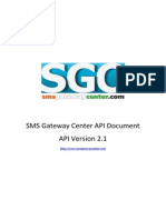 Sms Gateway Center API Document