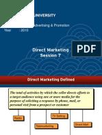 J08840000120104006J0884-07 Direct Marketing