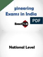 Engineering Exams in India | Exacthub