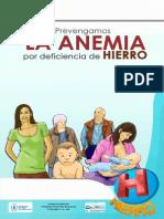 Rotafolio Prevengamos La Anemia Por Deficiencia de Hierro
