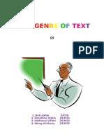 Genre of Text