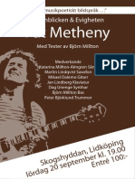 Metheny Affisch