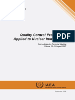 Quality control nuclear instruments