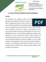 M-privacy for Collaborative Data Publishing
