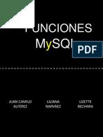 MySQL Funciones
