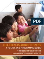 Children as Active Citizens A4 Book