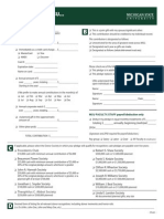 UD Pledge Form 2011