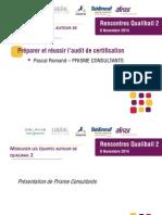 4- Audit de Certification