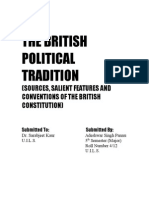 THE BRITISH POLITICAL TRADITION.doc