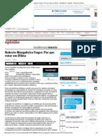 Roberto Mangabeira Unger_ Por Que Votar Em Dilma - 13-10-2014