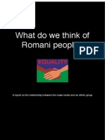 What Do We Think of Romani People