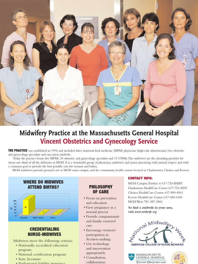Midwifery Practice at the Massachusetts General Hospital Vincent
