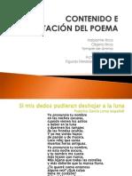 Contenido e Interpretación Del Poema-2006