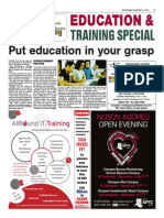Education and Training Special
