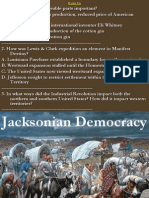 16 jacksonian democracy