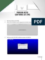 Install Sosftware CAT CPNS