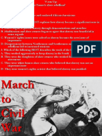 7 march to civil war 1