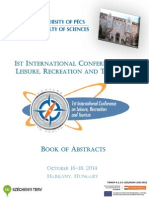 International Conference on Leisure, Recreation and Tourism Book of Abstracts