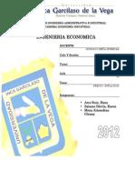 Trabajo Final Economica-Precio e Inflacion