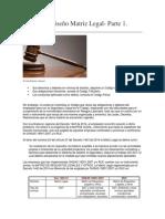 Diseño Matriz Legal