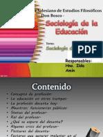Sociología Del Profesor