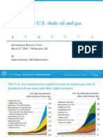 EIA Outlook for U.S. Shale Oil and Gas_Marzo 2014_Presentación Al FMI