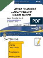 Matematicas financieras utpl