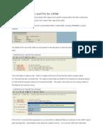 Create LSMW Logical Path and File 1