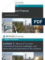What is International Finance