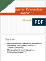 11-Manajemen-Ketersediaan