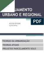 AULÃO ENADE PLANEJAMENTO