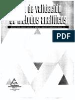 Guía Para Validación de Métodos Analíticos-CNQFB 2002