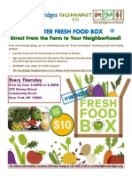 Winter Fresh Food Box Program
