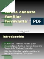 Nueva Canasta Familiar Ferroviaria