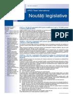 APEX Team Noutati Legislative 9 2014