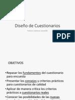 Diseño de Encuestas